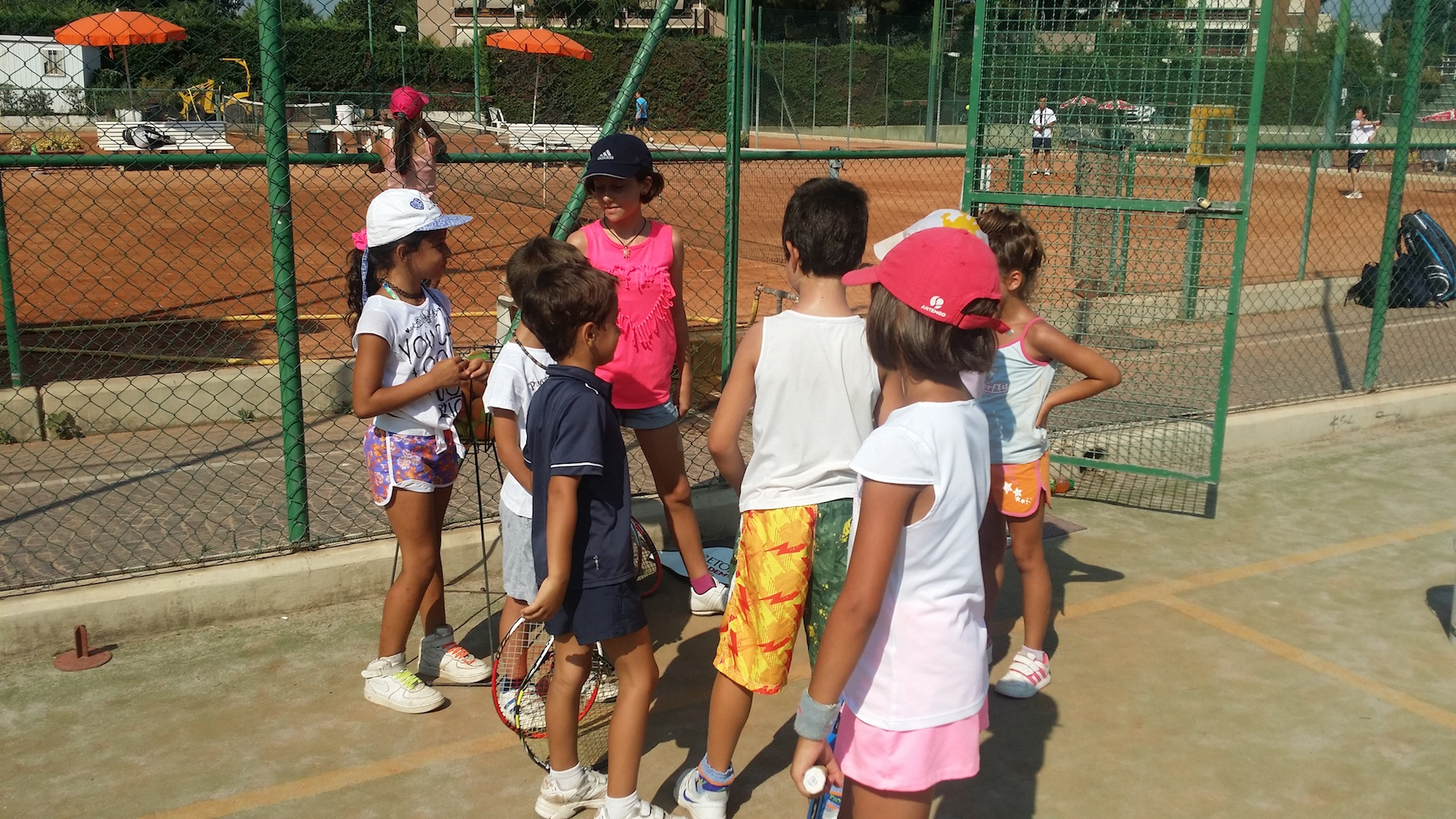 Sfondo tennis CLinic